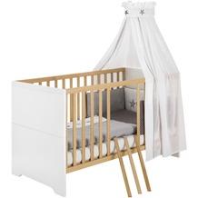 Schardt Coco White Kombi-Kinderbett 70x140 cm, weiß