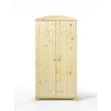 Schardt Dream Schrank 2 Türen, Motiv Teddy, Kiefer massiv / geölt