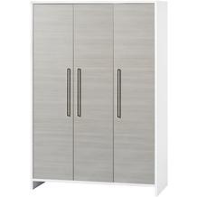 Schardt Eco Silber Schrank 3 Türen, weiß / Pinie silber