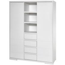 Schardt Maxx White Schrank 2 Türen, 4 Schübe, weiß