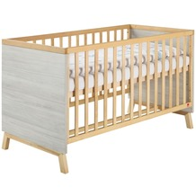 Schardt Miami Grey Kombi-Kinderbett 70x140 cm, Suomi Pinie / geölt