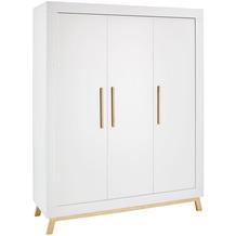 Schardt Miami White Schrank 3 Türen, weiß / geölt