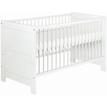 Schardt Nordic White Kombi-Kinderbett 70x140 cm, weiß