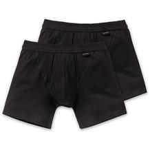 Schiesser 2er Pack Shorts schwarz 103399-000 Grösse 4