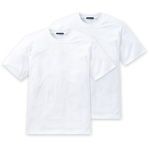 Schiesser 2er Pack T-shirt weiß 008150-100 3XL