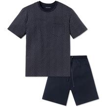 Schiesser Anzug Kurz dunkelblau 159619-803 48