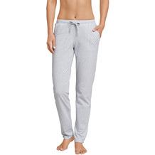 Schiesser Damen Jerseyhose lang grau-mel. 165679-202 34