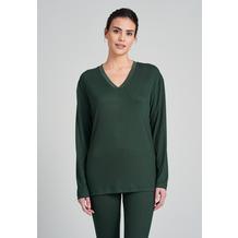Schiesser Damen Longshirt dunkelgrün 175511-702 36