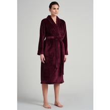 Schiesser Damen Morgenmantel, 120cm burgund 172823-516 36