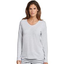 Schiesser Damen Shirt 1/1 Arm grau-mel. 165665-202 34