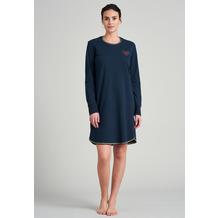 Schiesser Damen Sleepshirt 1/1 blauschwarz 175752-001 36