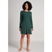 Schiesser Damen Sleepshirt 90cm dunkelgrün 175540-702 36