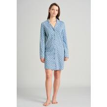 Schiesser Damen Sleepshirt 90cm hellblau 175543-805 36