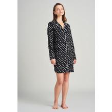 Schiesser Damen Sleepshirt 90cm schwarz 175543-000 36