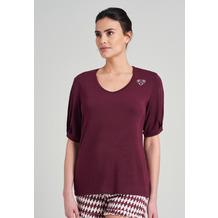 Schiesser Damen T-Shirt burgund 175529-516 36
