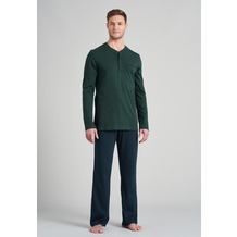 Schiesser Herren Schlafanzug lang dunkelgrün 175640-702 102