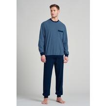 Schiesser Herren Schlafanzug lang nachtblau 175683-804 48