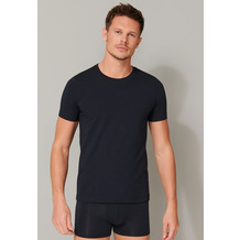 Schiesser Herren T-shirt Rundhals blauschwarz 164232-001 4