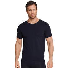 Schiesser Herren T-shirt Rundhals blauschwarz 164233-001 4