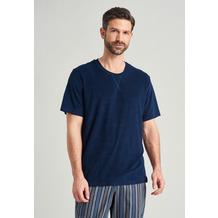 Schiesser Herren T-shirt Rundhals nachtblau 175240-804 48