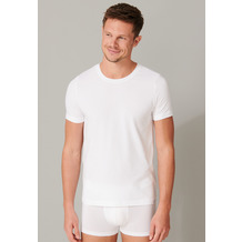 Schiesser Herren T-shirt Rundhals weiß 164232-100 4