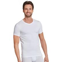 Schiesser Herren T-shirt V-Ausschnitt weiß 172468-100 4