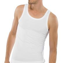 Schiesser Jacke ohne Arme Cotton 95/5 weiß 10