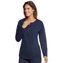Schiesser Shirt 1/1 Arm nachtblau 165668-804 34