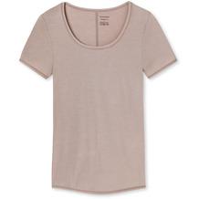 Schiesser Shirt 1/2 Arm braun 155413-300 3XL