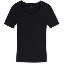 Schiesser Shirt 1/2 Arm schwarz 144085-000 36