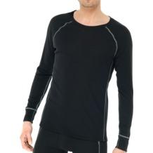 Schiesser Shirt langarm schwarz 4