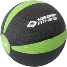 Schildkröt Fitness MEDIZINBALL 1kg, (black-green) in Sichtbox