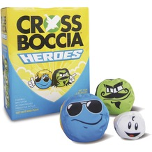 """Crossboccia DOUBLE-PACK HEROES, Design """"Mexican+Dude"""""""