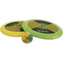 Schildkröt Funsport OGOSPORT Set, 2 Ogo Softdiscs (gelb+grün) + 1 Ball, 2015