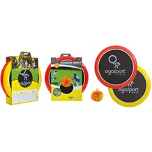 Schildkröt Funsport Ogosport Set, 2 Ogo Softdiscs (rot+ gelb) +1 Ogo Ball