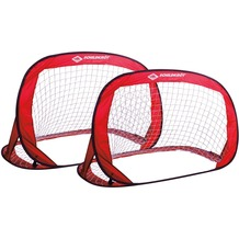 Schildkröt Funsport Pop-up-Goals (2er Set Tore im Carrybag) rot/schwarz
