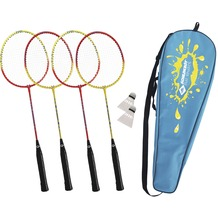 Schildkröt Funsport SCHILDKRÖT Badminton-Set 4-PLAYER in Tragetasche