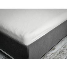 Schlaraffia Spannbetttuch white Tiefe 15 cm 140/160x200 cm