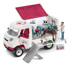 Schleich Mobile Tierärztin m. Hannoveraner Fohlen