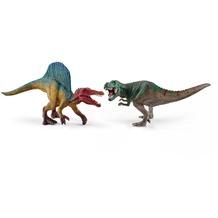 Schleich Spinosaurus und T-Rex, klein