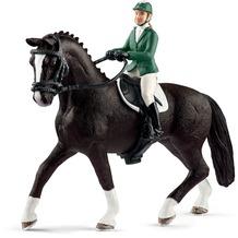Schleich Springreiterin mit Pferd