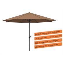 Schneider Schirme Sonnenschirm Adria 300/8 mocca