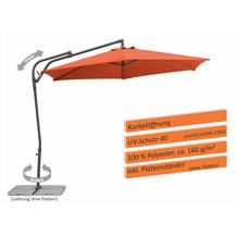 Schneider Schirme Sonnenschirm Genua 300/6 terracotta