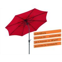 Schneider Schirme Sonnenschirm Harlem 270/8 rot