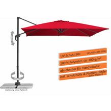 Schneider Schirme Sonnenschirm Rhodos Junior 270x270/8 rot