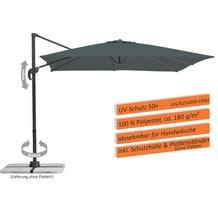 Schneider Schirme Sonnenschirm Rhodos Junior 270x270 anthrazit