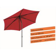 Schneider Schirme Sonnenschirm Sevilla 270/6 rot