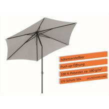 Schneider Schirme Sonnenschirm Sevilla 270/6 silbergrau