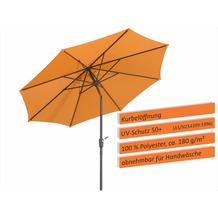 Schneider Schirme Sonnenschirm Harlem 270/8 mandarine