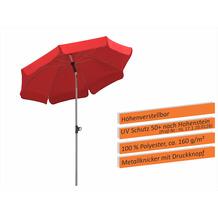 Schneider Schirme Sonnenschirm Locarno 150/8 rot